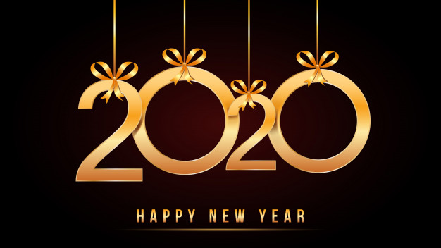 2020-happy-new-year-text-with-golden-numbers-with-hanging-golden-numbers-ribbon-bows-isolated-black_73174-168