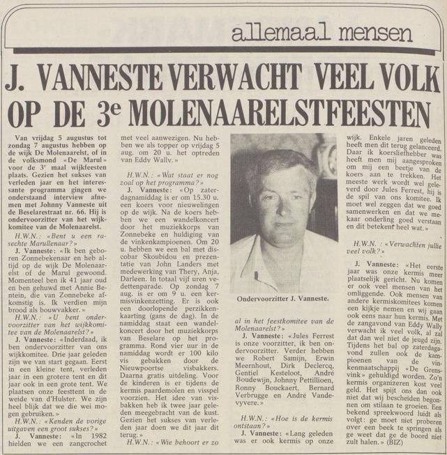 wekelijks nieuws 05-08-1983