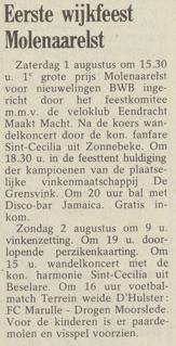 wekelijks nieuws 17-07-1981