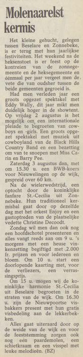 wekelijks nieuws 19-07-1985