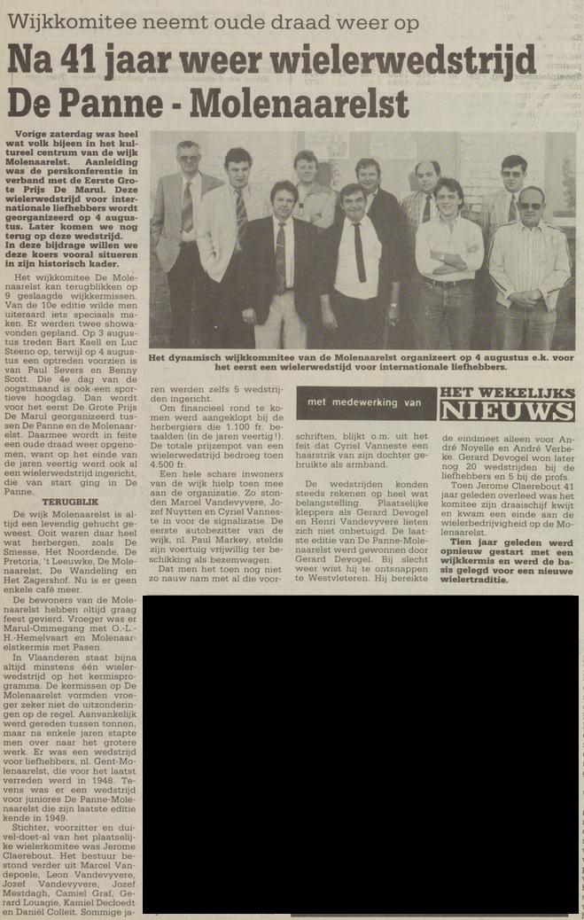 wekelijks nieuws 29-06-1990